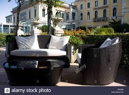 grand hotel villa serbelloni in bellagio lake como italy stock