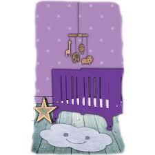 tapis de chambre enfant tapis nuage nimbus gris en coton lavable pour chambre bébé par nattiot