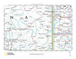Detailed Map Of Montana by Powder River O U0027fallon Creek Drainage Divide Area Landform Origins