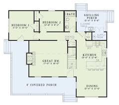 best choice of country style house plan 4 beds 2 00 baths 1472 sq