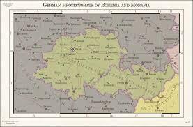 Bohemia Map Protectorate Of Bohemia And Moravia By Zalezsky On Deviantart
