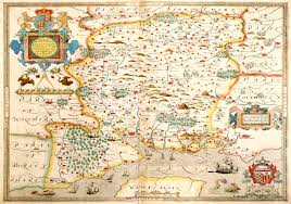 Southampton England Map by England U0026 Wales Christopher Saxton 1579 M Aa 3 U2013 L Brown Collection