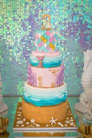 mermaid cake ideas kara s party ideas mermaid cove birthday party kara s party ideas