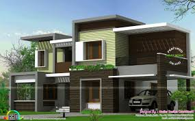 Box House Plans Home Design Types 2380 Sq Ft Box Type House Kerala Home Design And