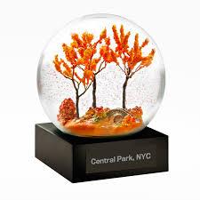 in central park snow globe