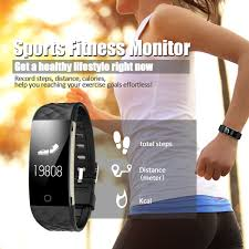 smart heart rate bracelet sports fitness tracker waterproof