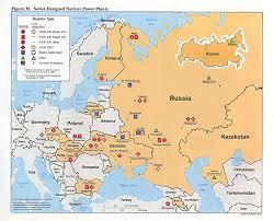 Chernobyl Map Reisenett Russia And The Former Soviet Republics Maps