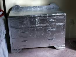 Silver Leaf Nightstand Silver Leaf Dresser Cre8ivecharly