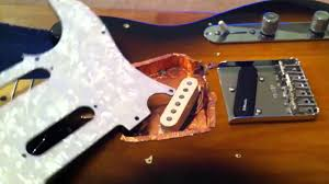 how to change out pickups on fender telecaster youtube