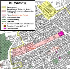 Map Of Concentration Camps In Germany by Kz Warsaw