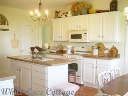 Painting Kitchen Cabinets With Annie Sloan Painted Wood Kitchen 5 Brown Kitchen Walls With White Cabinets
