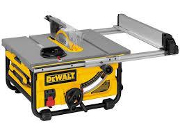 dewalt jobsite table saw accessories dewalt dw745 10 15 amp compact job site table saw newegg com