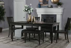 valencia 64 inch extension rectangle dining table living spaces