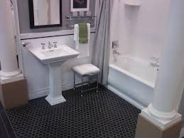 Grey Tile Bathroom by Bathroom Bathroom Border Tiles Ceramic Tile Flooring Restroom