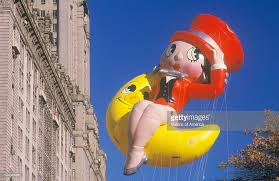 betty boop balloon in macy s thanksgiving day parade new york