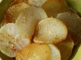 cuisiner radis blanc daïkon au sésame radis blanc manger cru et recette du jour