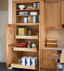 Unfinished Wood Storage Cabinets Pantry Cabinet Unfinished Oak Pantry Cabinet With Simple And Neat