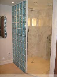glass block bathroom ideas with block wall shower marvellous glass block showers small