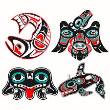 alaska indian tribal cuttable designs