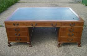 antique furniture warehouse large antique partners desk large