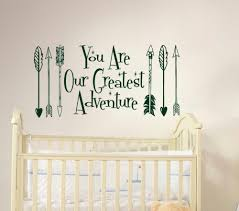 Baby Room Decals Online Get Cheap Wall Decal Arrow Quote Aliexpress Com Alibaba
