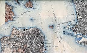 San Francisco Bay Map san francisco historical maps