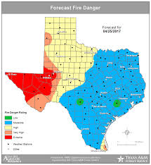 Austin Radar Map by Breezy Conditions This Week Increases Our Risk Of Fire Danger