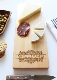 personalized cheese boards cheese board personalized cutting board custom name wedding