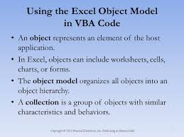 excel and vba creating an excel application ppt video online