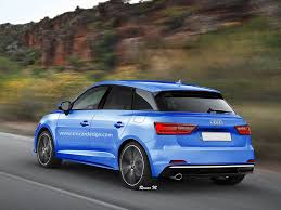 audi a1 s1 2018 audi a1 rendering seems to combine recent spyshots with the