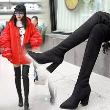 womens boots europe s boots knee boots boots autumn and winter europe and the