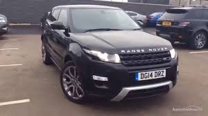 land rover range rover evoque 2014 land rover range rover evoque sd4 dynamic black 2014 youtube
