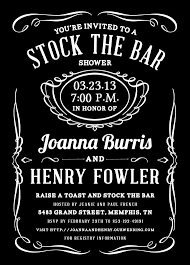 stock the bar party stock the bar invitation wording help weddingbee