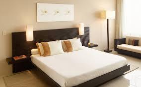 elegant modern leather bedroom design with best interior