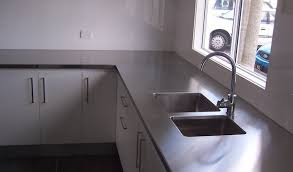 Bench Top With Integrated Sink Ourproducts Commercial - Kitchen sink tops