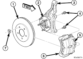 2005 dodge dakota front suspension diagram front hub half shaft click pop sound 2004 2006 chrysler pacifica