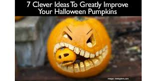 clever pumpkin 7 clever ideas to greatly improve your halloween pumpkins