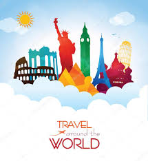 traveling around the world images Travel around the world stock vector giorgos245 72811559 jpg