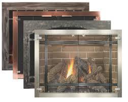 tempered glass fireplace doors gallery doors design ideas