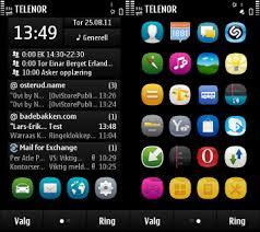 nokia 2690 black themes nokia symbian 3 themes dark solid dark outline