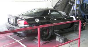 Dodge Viper 2006 - 2006 dodge viper paxton supercharger dyno sheet details