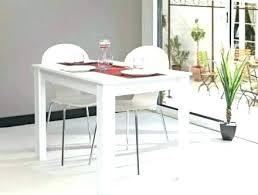 table cuisine ronde blanche table de cuisine blanche avec rallonge table de cuisine blanche avec