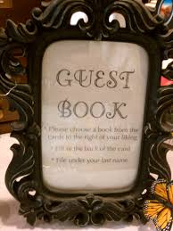 guest book sign in evette rios a vintage bookstore wedding decorating entertaining