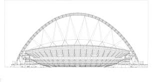 gallery of wembley national stadium foster partners 34