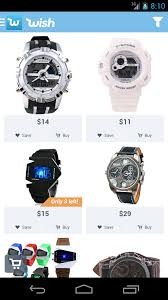 wish shopping made fun app ranking und store daten app annie