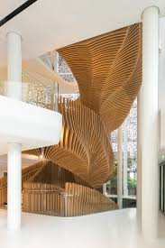 stair case ora ito sculpts parametric staircase for lvmh u0027s media division office