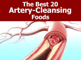 the best 20 artery cleansing foods
