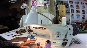 how to slow down your industrial sewing machine youtube