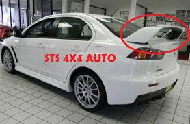 mitsubishi evo spoiler rear spoiler mitsubishi lancer evo x 2008 buy rear spoiler for