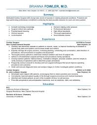 resume exles for it professionals 2 best surgeon resume exle livecareer